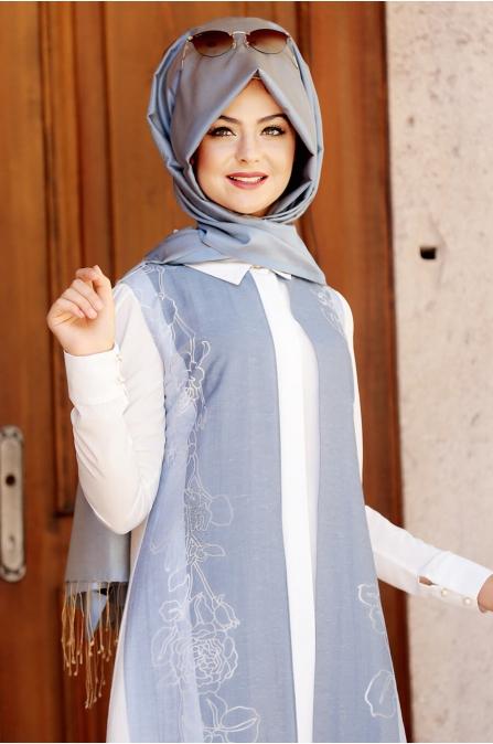 Hayat Yelek - Mavi - Pınar Şems