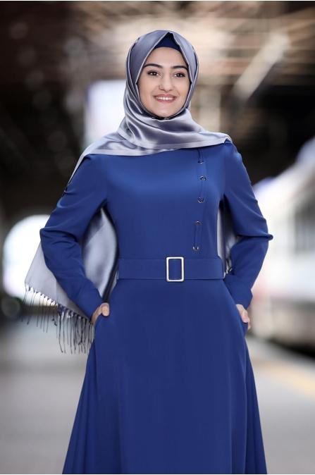 Hilal Elbise - İndigo - Rabeysa