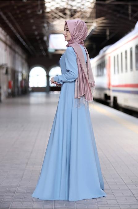 Hilal Elbise - Mint - Rabeysa