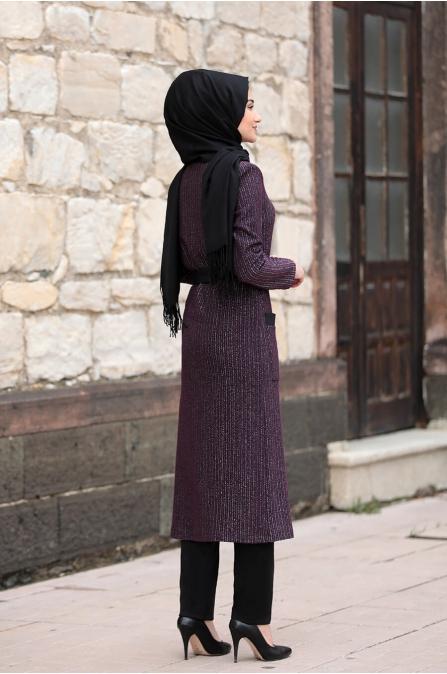 Yaren Hırka - Mürdüm - Rabeysa