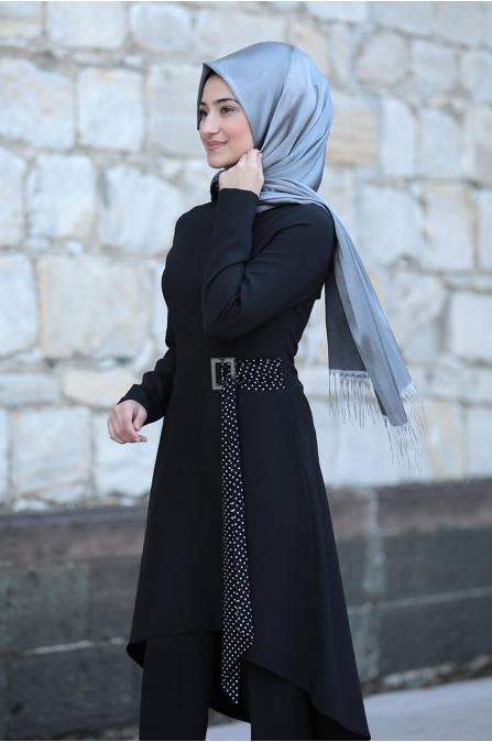 Açelya Takım - Siyah - Rabeysa