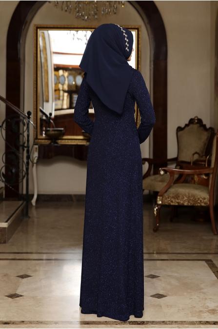 Irmak Abiye - Lacivert - Rana Zen