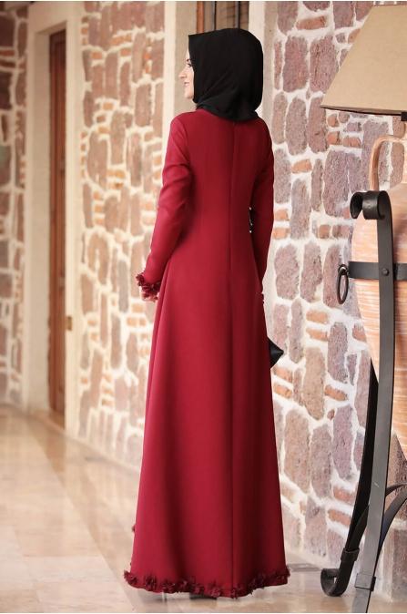 Arye Elbise - Bordo - Rana Zen