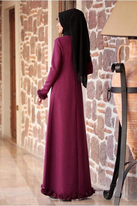 Arye Elbise - Fuşya - Rana Zen