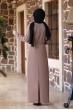 Arzu Tesettür Elbise - Vizon