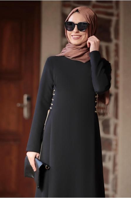 Beste Elbise - Siyah - Rana Zen
