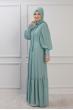Işıl Elbise - Mint - Rana Zen