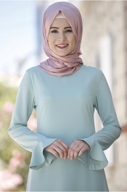 Rana Zen - Kalem Elbise - Mint