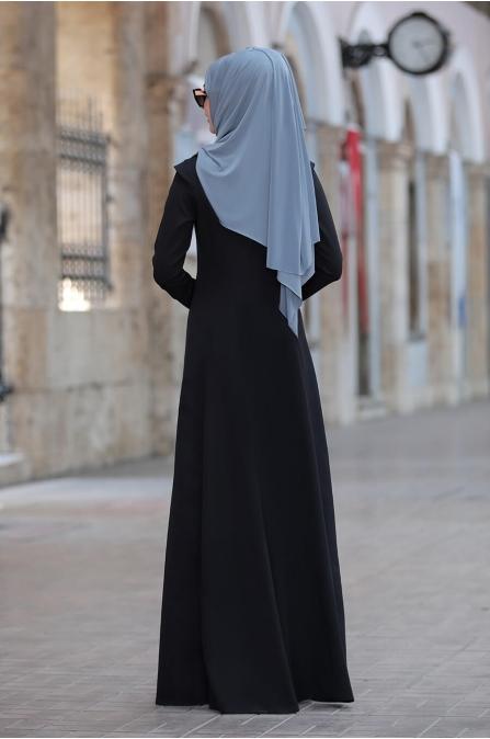 Kumsal Elbise - Siyah - Rana Zen