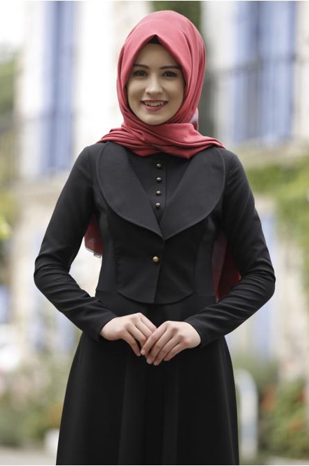 Rana Zen - Endam Elbise - Siyah