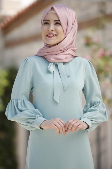 Rana Zen - Tuba Elbise - Mint