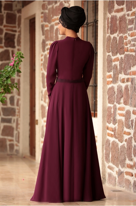 Rana Zen - Sena Elbise - Mürdüm