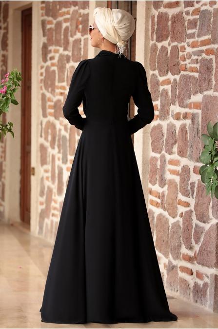 Rana Zen - Sena Elbise - Siyah