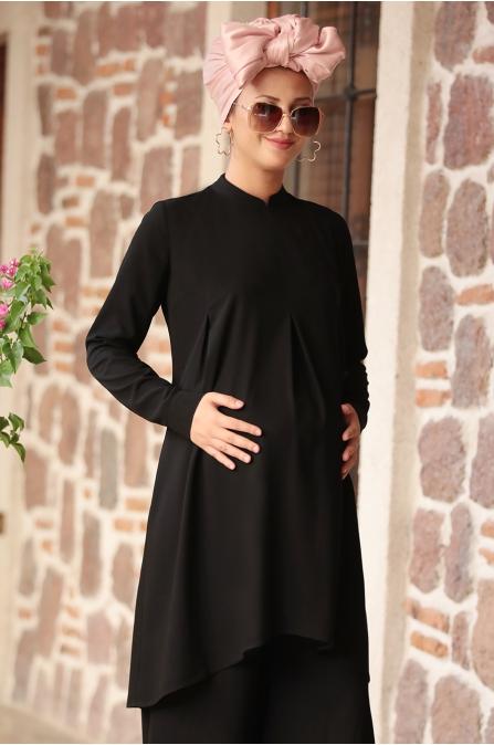 Rana Zen - Hamile Takım - Siyah