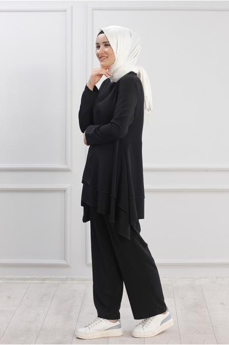 Çağla Takım - Siyah - Rana Zen