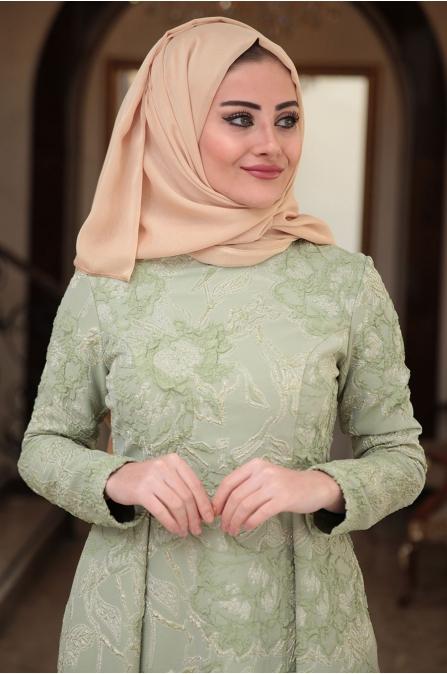 Seda Tiryaki - Yeşil - Nur Abiye