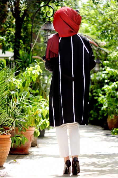 İdil Ceket - Siyah - Seda Tiryaki