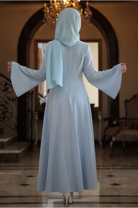 Seda Tiryaki - Buz Mavisi - Alara Elbise