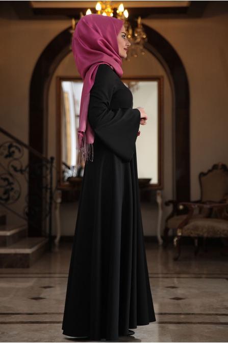 Seda Tiryaki - Siyah - Alara Elbise