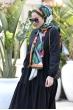 Alaçatı Kat Kat Elbise - Siyah