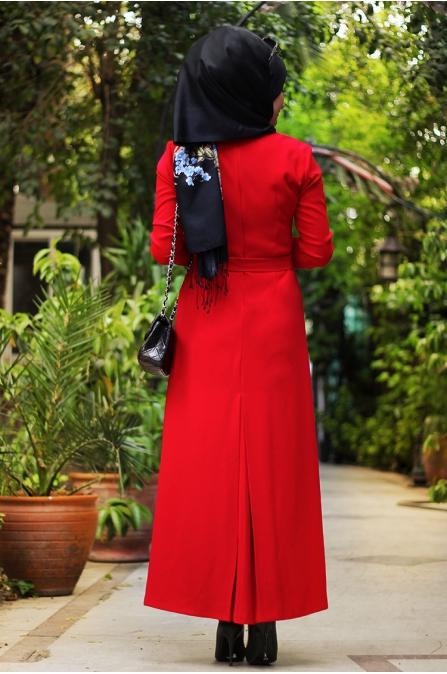 Hira Elbise - Kırmızı - Seda Tiryaki
