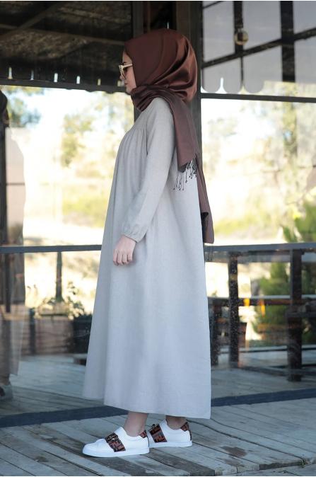 Mila Elbise - Taş - Seda Tiryaki