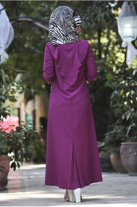 Ravza Elbise - mürdüm
