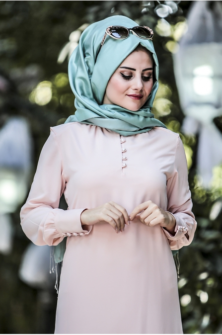 Ravza Elbise - Pudra