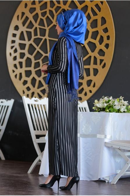 Sera Elbise - Siyah - Seda Tiryaki