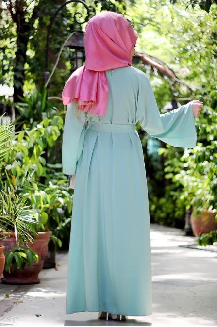 Suden Elbise - Mint - Seda Tiryaki