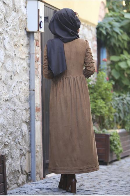 Züma Elbise - Camel - Seda Tiryaki