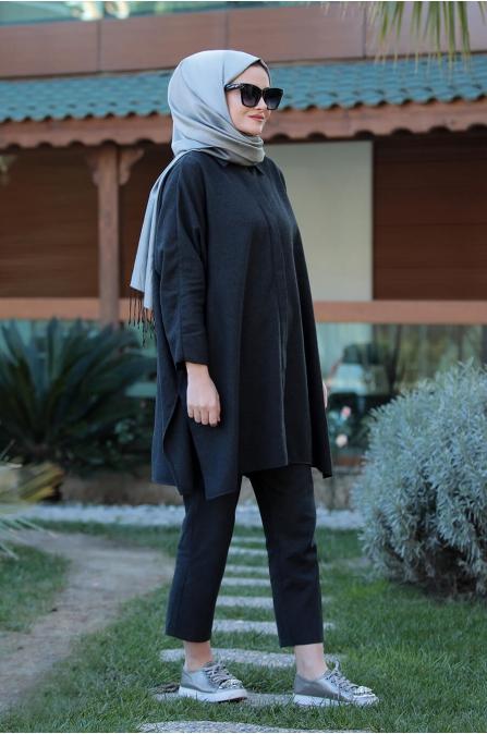 Şura Takım - Siyah - Seda Tiryaki