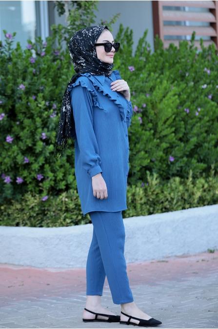Nervülü Takım - Mavi - Seda Tiryaki