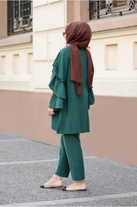 Rüya Takım - Yeşil - Seda Tiryaki