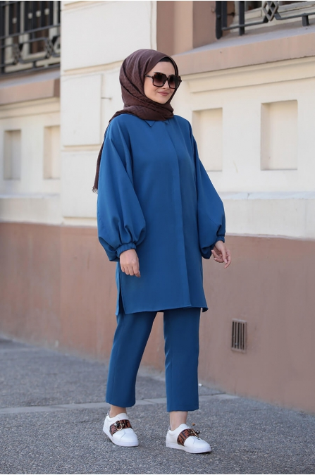 İrina Takım - Mavi - Seda Tiryaki