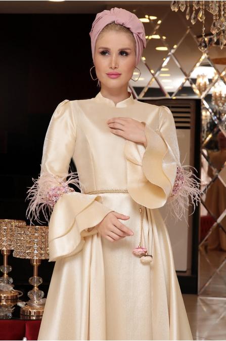 Angel Abiye Gold - Selma Sarı