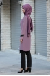 Sude İncili Tunik Pantolon İkili Takım - Gül Kurusu