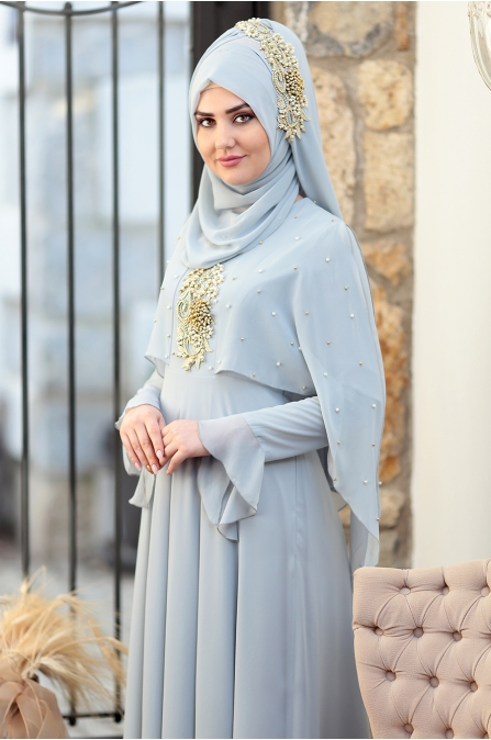 Som Fashion - Nur Abiye - Bebe Mavisi