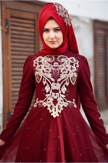 Som Fashion - Rana Abiye - Bordo