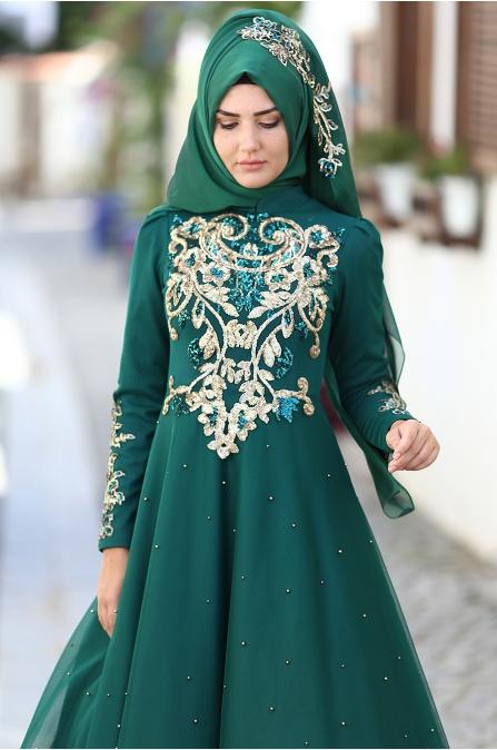 Som Fashion - Rana Abiye - Zümrüt
