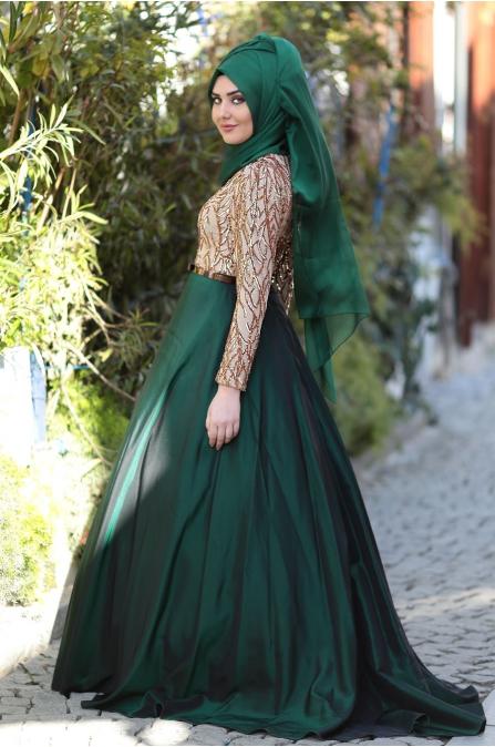 Som Fashion - Zümrüt - Esra Tafta Abiye