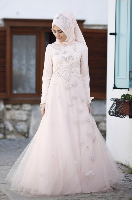 Yasemin Pudra Abiye - Som Fashion