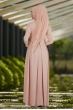 Lale Elbise Pudra - Som Fashion