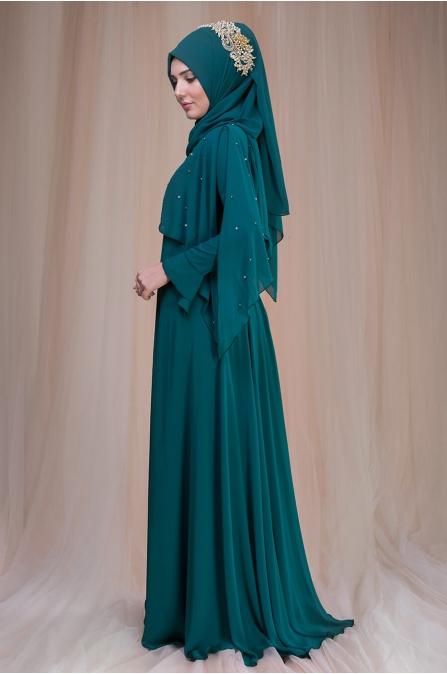 Nur Abiye - Yeşil - Som Fashion