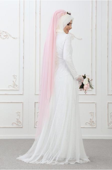 Süreyya Abiye Ekru - Som Fashion