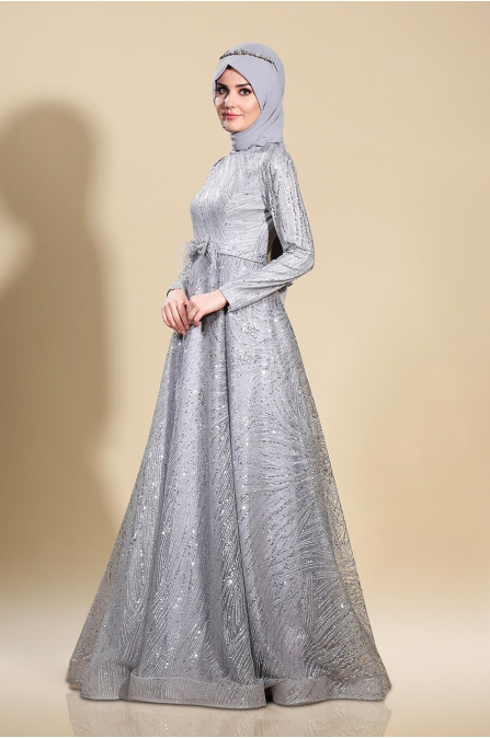 Ela Abiye - Gri - Som Fashion