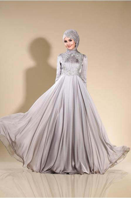 Mila Abiye - Gri - Som Fashion