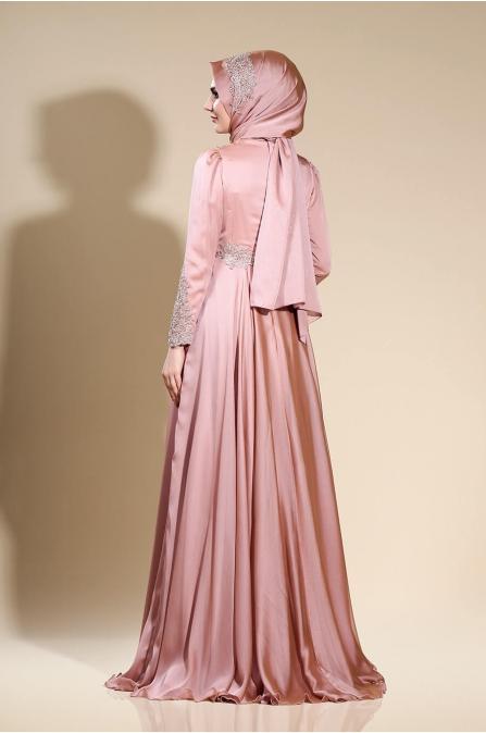 Mila Abiye - Gül Kurusu - Som Fashion