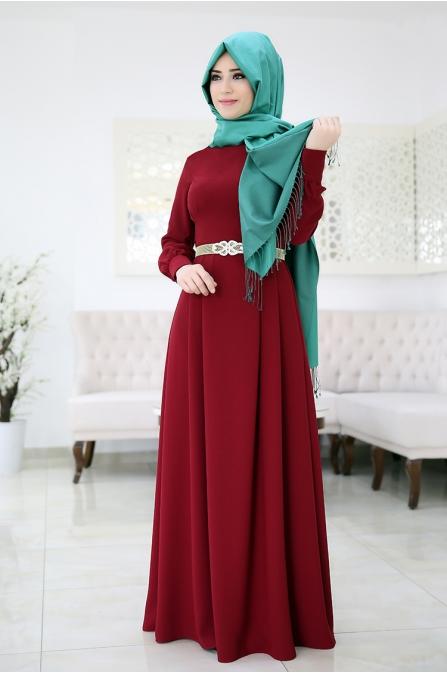 Elit Elbise - Bordo - Som Fashion