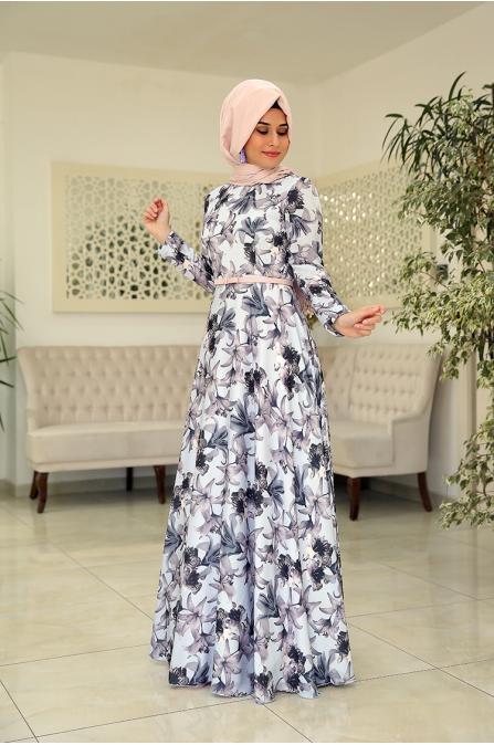 Zambak Elbise - Som Fashion